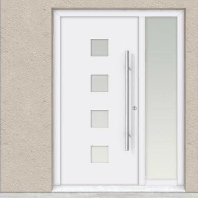 Eingangstüren modern  Riesterer Metallbauprojekte - Bauelemente
